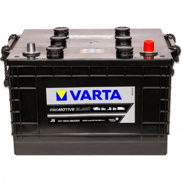 Varta J8 Promotive Black 12V 135Ah 680A