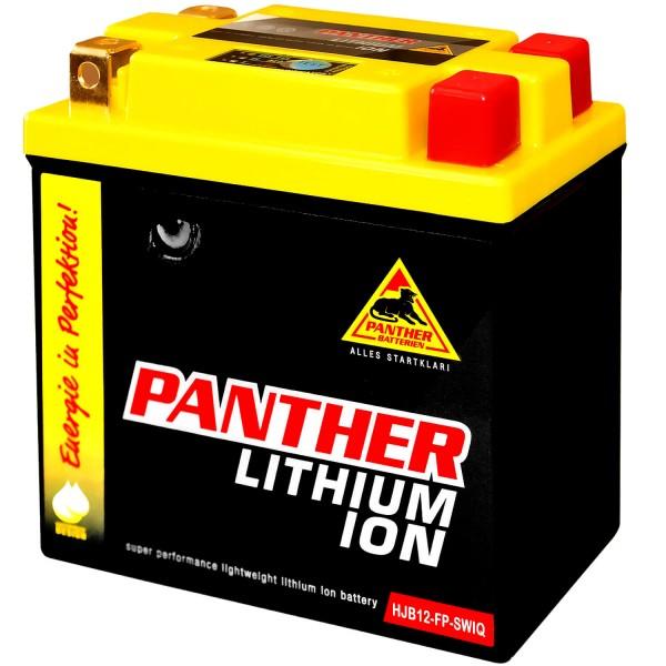 Panther Lithium Motorradbatterie 12V 4Ah HYTX12-FP