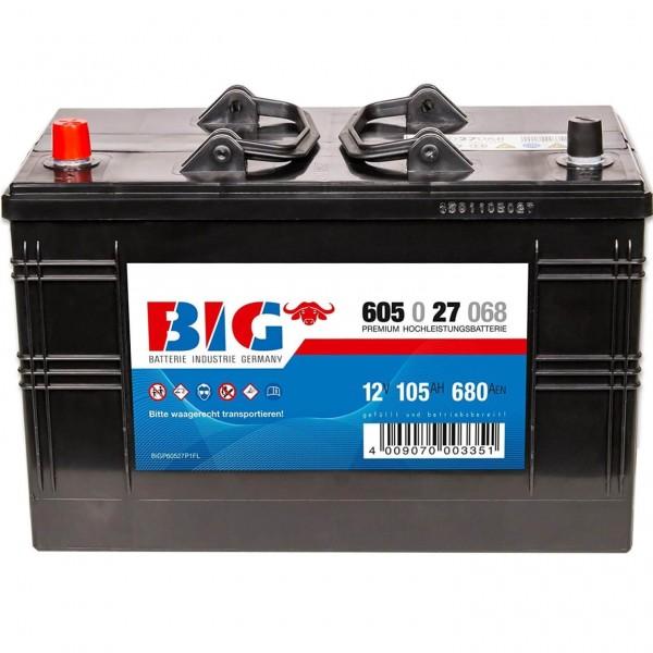 BIG Premium 12V 105Ah 680A DIN 60527