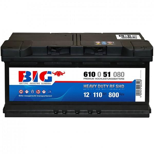 BIG Premium 12V 110Ah 950A 61051