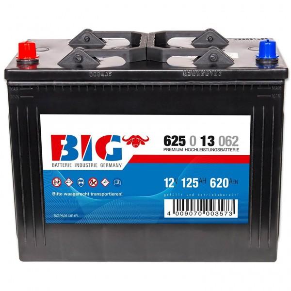 BIG Premium 12V 125Ah 620A DIN 62513