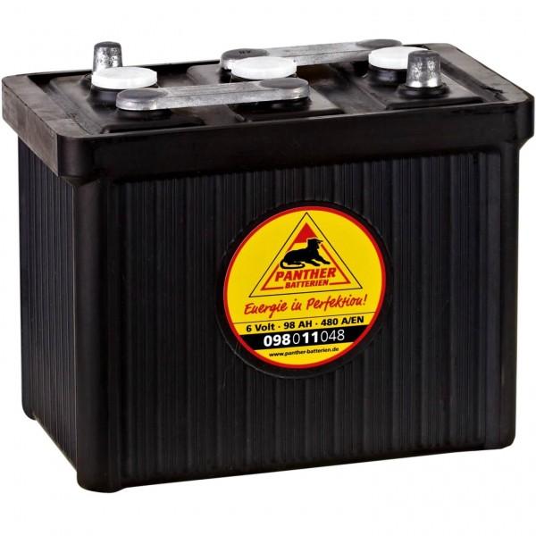Oldtimer-Batterie 6V 98Ah Panther 09811