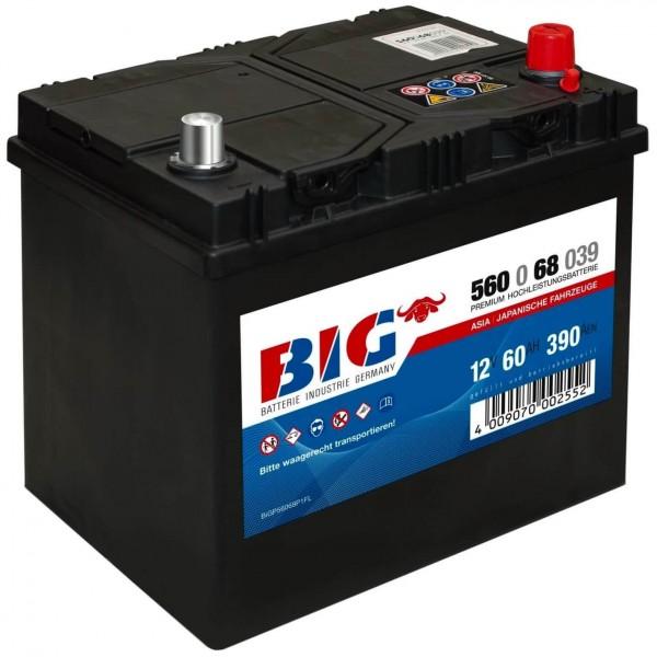 BIG Premium 12V 60Ah 390A DIN 56068