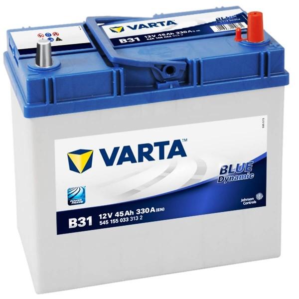 Varta B31 Autobatterie 12V 45Ah 330A