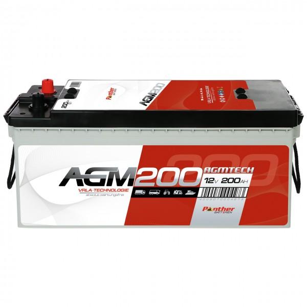 Panther AGM200 12V 200Ah Versorgungsbatterie