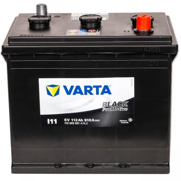 Varta I11 Promotive Black 6V 112Ah 510A