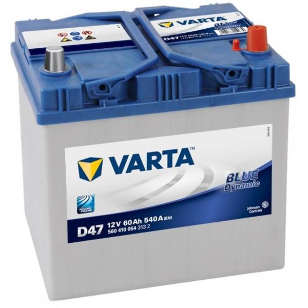 Varta D47 Starterbatterie 12V 60Ah 540A