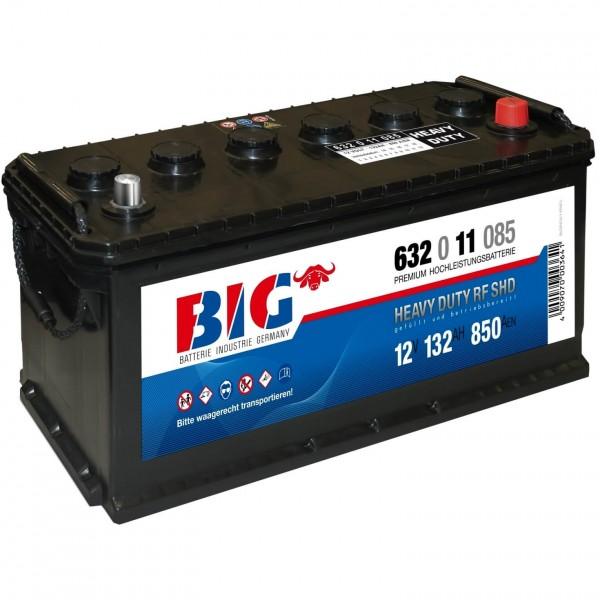 BIG Premium 12V 132Ah 850A DIN 63211