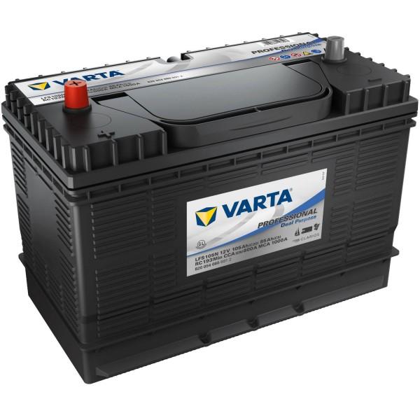 Varta LFS105 Professional 12V 105Ah Bootsbatterie