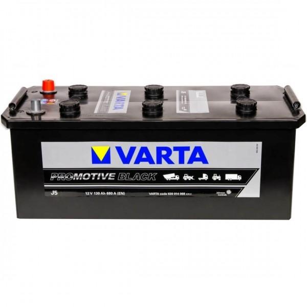 Varta J5 Promotive Black 12V 130Ah 680A