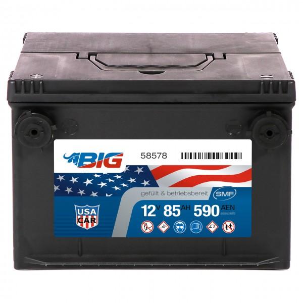 BIG US CAR 12V 85Ah 590A DIN 58578